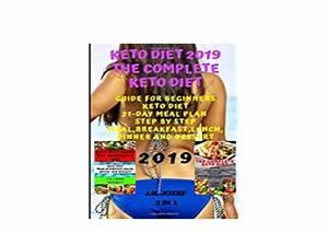 Read  P D F      Keto Diet 2019 The Complete Keto Diet