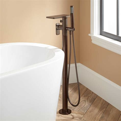 free standing tub faucet signature hardware ghani freestanding tub faucet and