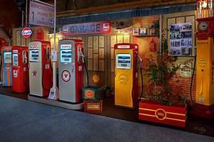 Pompe A Essence : reproduction en bois de pompes essence des ann es 50 ~ Dallasstarsshop.com Idées de Décoration