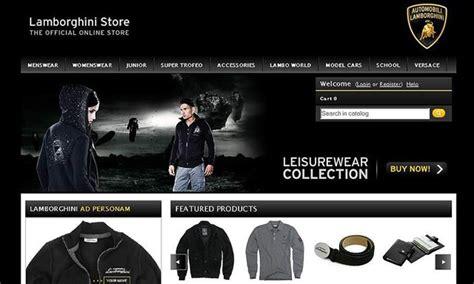 official lamborghini merchandise website  open