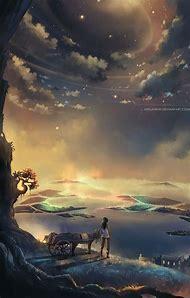 Anime Digital Art Landscape