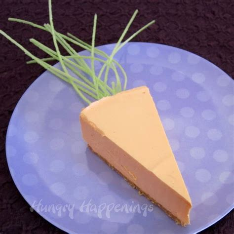 orange colored desserts naturally colored orange cheesecake carrots hungry happenings