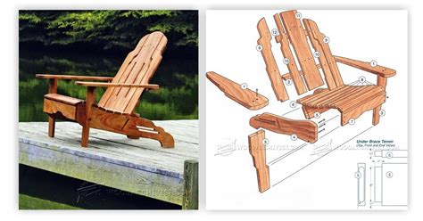 build adirondack chair woodarchivist