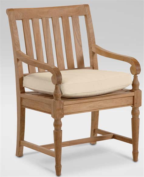Teak Armchair by Millbrook Teak Armchair Costa Furniture