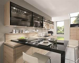 hotte range epices et meuble de cuisine hauts electrique With hauteur des meubles haut cuisine