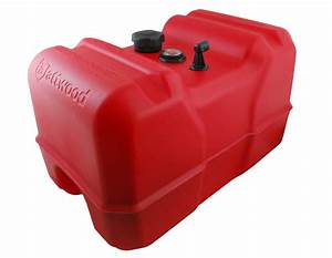 Attwood 12 Gal Portable Fuel Tank W  Fuel Gage