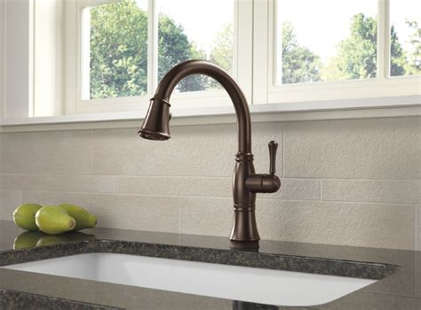 Delta 9197T RB DST Cassidy Single Handle Pull Down Kitchen