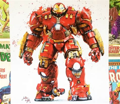 Hulkbuster Printable Coloring Pages