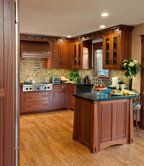 arts crafts kitchen  ellsworth door craftsman