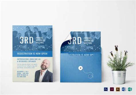 21+ Meeting Invitation Templates PSD Word AI InDesign