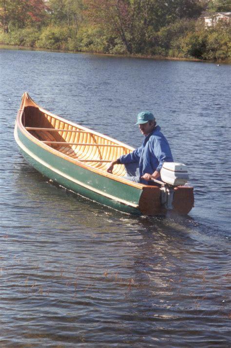 voyager northwoods canoe
