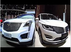 Luxury SUVs Cadillac XT5 VS Lincoln MKC, Full size luxury