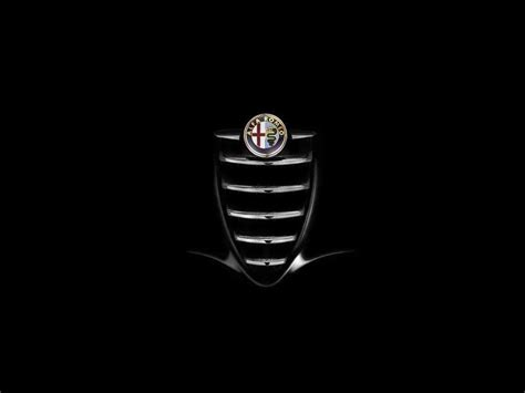 alfa romeo logo alfa romeo wallpapers wallpaper cave