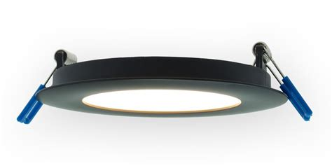 thin recessed led lighting fixture 4 inch 9w