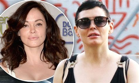 Rose McGowan reveals why she shaved her hair off | Daily ...