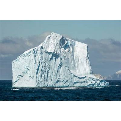 Large Iceberg Spotted Off The Coast of Látrabjarg