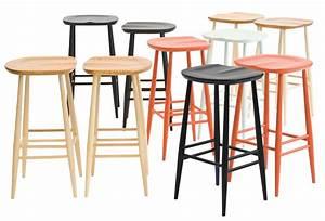 Tabouret 65 Cm But : tabouret de bar bar stool bois h 65 cm r dition 1950 39 bois naturel ercol ~ Teatrodelosmanantiales.com Idées de Décoration