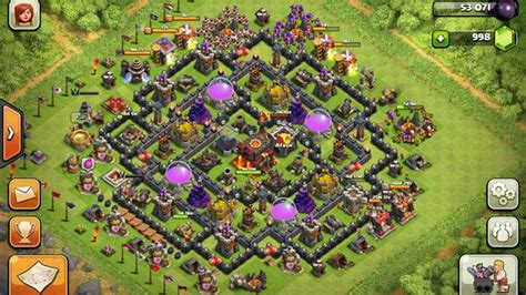 clash  clans builder  town hall  layouts