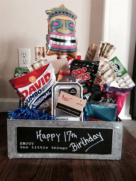 Best 25+ 17th Birthday Gifts Ideas On Pinterest  Creative