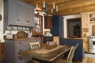 painted kitchen island collection of rustic kitchens town country living