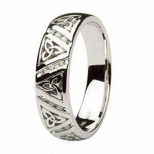 1000 images about celtic wedding rings on pinterest With celtic diamond wedding rings