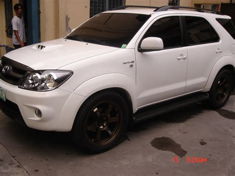Toyota Fortuner Modification by Machua20 2007 Toyota Fortuner Specs Photos Modification