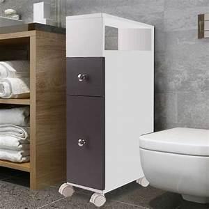 Rangement Papier Wc : meuble wc achat vente meuble wc pas cher cdiscount ~ Teatrodelosmanantiales.com Idées de Décoration