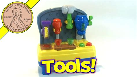 toys r us bruin mini musical light up work bench shop