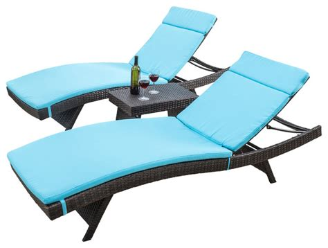 lakeport outdoor 3 adjustable blue chaise lounge