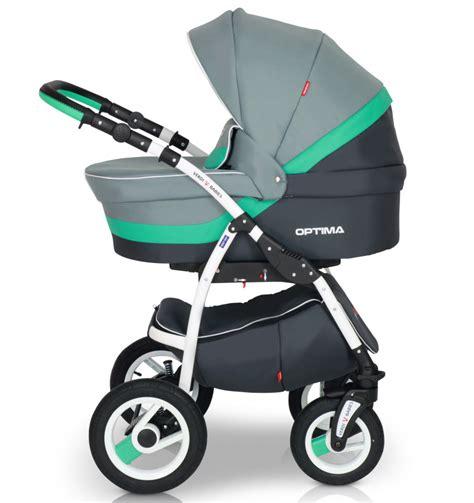 Verdi Optima col. 12 Bērnu rati 3in1 / BabyBest.lv
