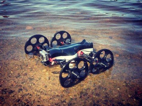terrain drone   fly swim climb film  called  tilt ranger