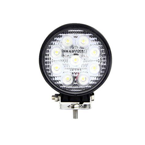 4 led light bulbs round led work light 4 inch 27 watt tuff led lights