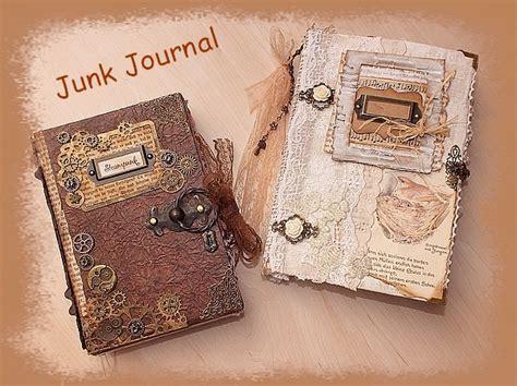buch selber basteln junk journal basteln diy