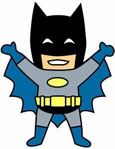 Happy Mini Batman Cartoon Clip Art Transparent