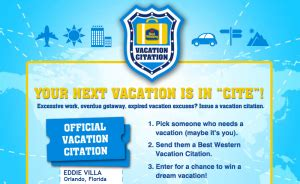best western rewards phone number best western vacation citation sweepstakes win a 5 000