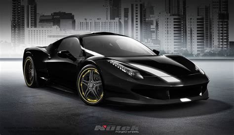 gold ferrari black and gold ferrari 8 free hd wallpaper