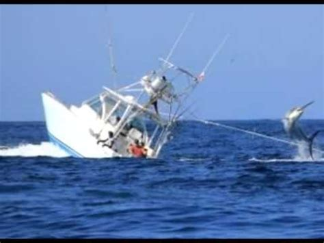 Boat Sinking Load Of Fish by Black Marlin Sinks Fishing Boat In Panama