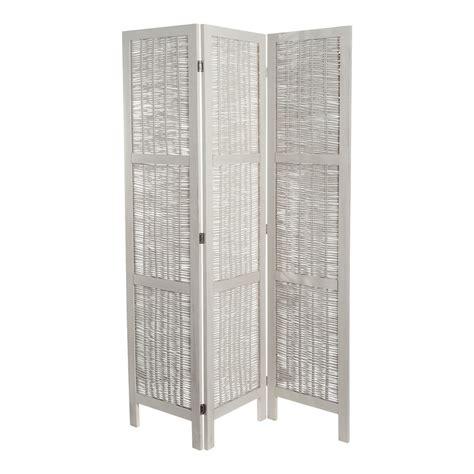 chambre d ado ikea paravent en rotin blanchi l 126 cm maisons du monde