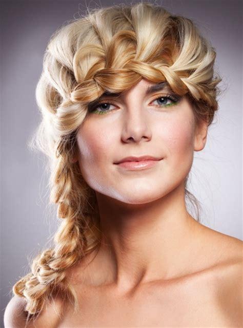 easy braided hairstyle ideas for medium length hair hairstyles
