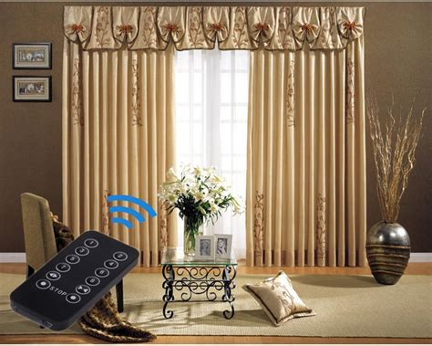 Motorized Curtain Track India by Remote Curtains Rooms