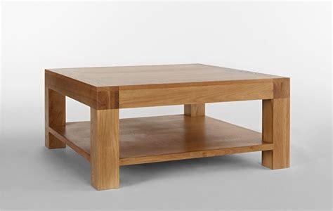 Rustic Grange Santana Blonde Oak Square Coffee Table