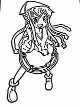 Squid Coloring Printable Ingrahamrobotics Drawings Drawing Face sketch template
