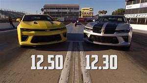 2016 Chevy Camaro Ss Drag Test Auto Vs Manual With Jeff
