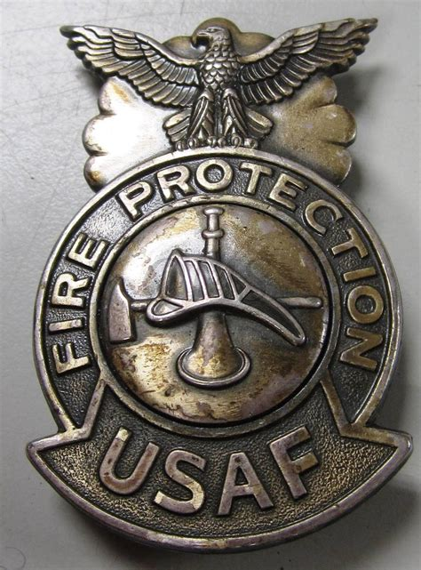 air force fire protection badge