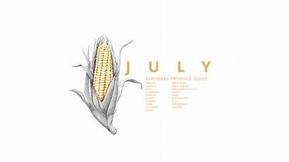 Seasonal Guide July Produce Month Thevintagemixer Mixer