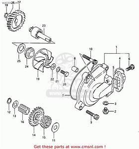 Suzuki Rg250 1986  Fg  Water Pump