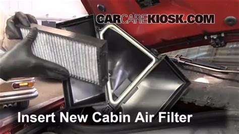 cabin filter replacement bmw     bmw