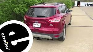 Best 2013 Ford Escape Trailer Wiring Options - Etrailer Com