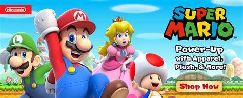 Clickable Image Of Super Mario Characters In Super Mario