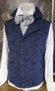 Waistcoat Pattern Regency Period Clothing
